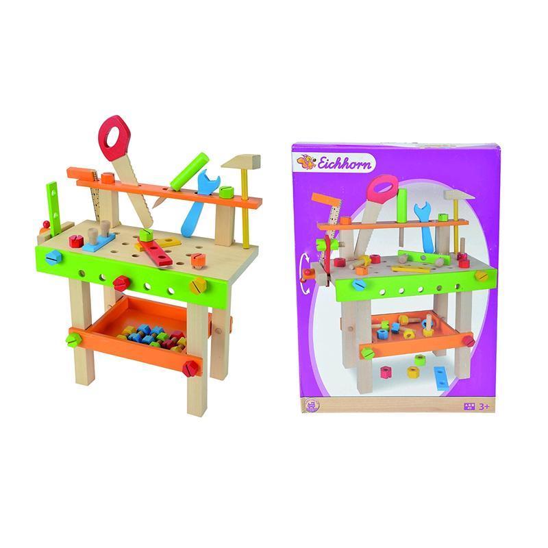 Eichhorn Werkbank 49-teilig 100001844 - Spar Toys