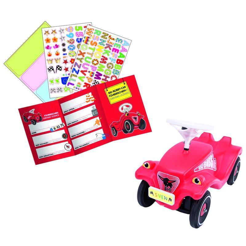 big bobby car mein nummernschild 56486 spar toys. Black Bedroom Furniture Sets. Home Design Ideas