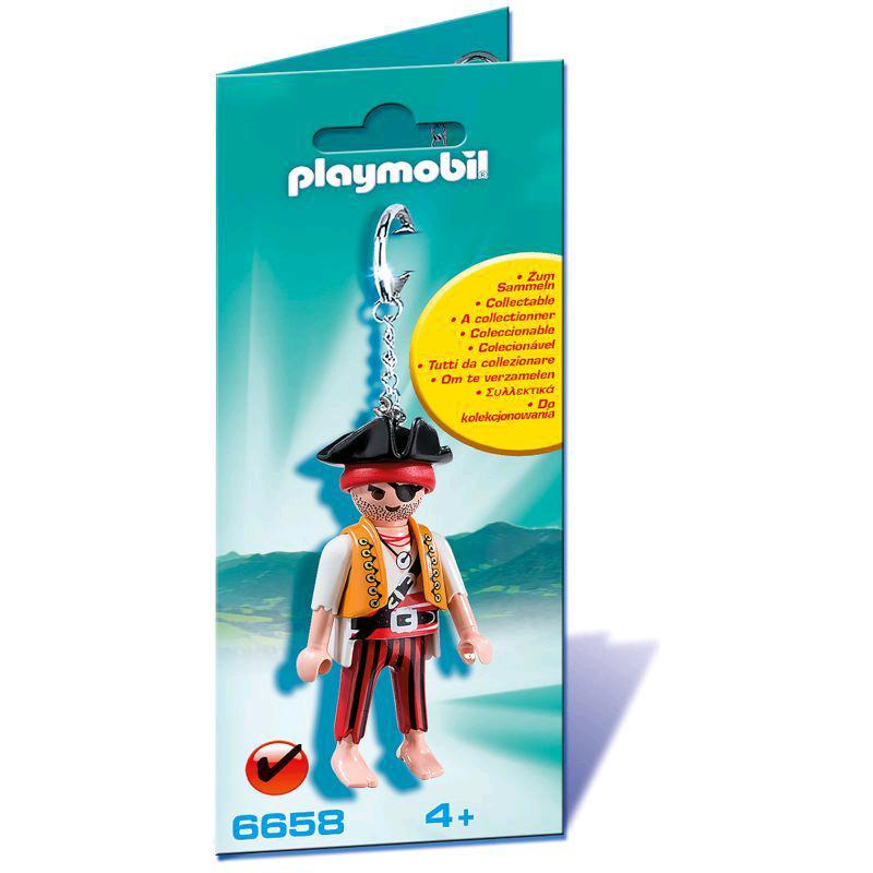 playmobil® schlüsselanhänger pirat 6658  spar toys
