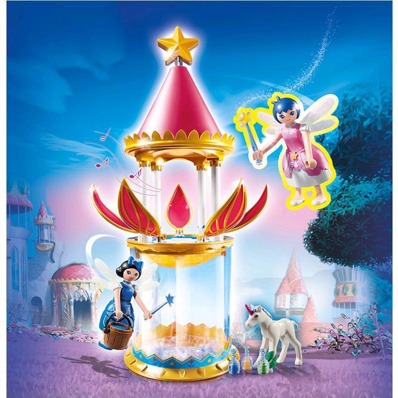 PLAYMOBIL® Super 4 Zauberhafter Blütenturm Mit Feen