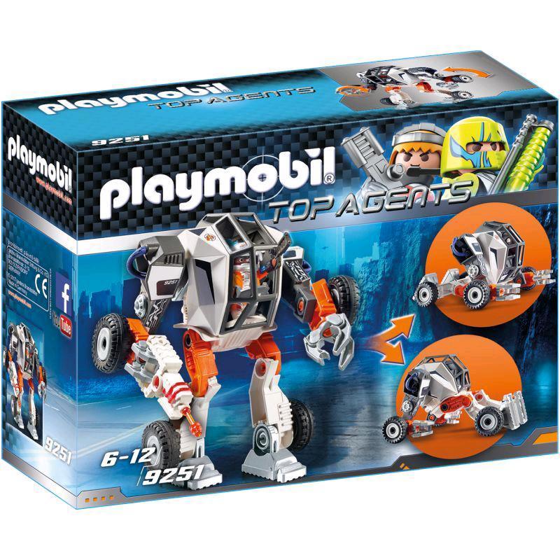 playmobil® agent tec's mech 9251  spar toys
