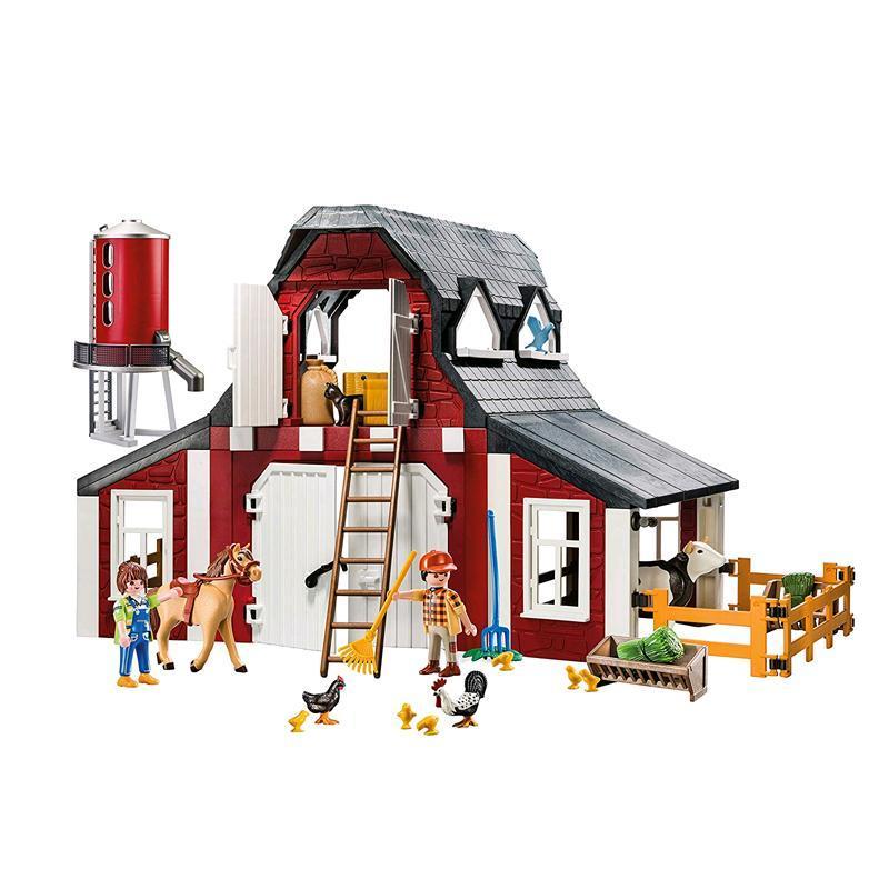 playmobil® farmset bauernhof mit zubehör 9315  spar toys