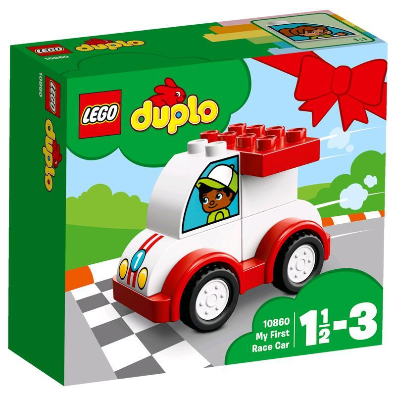 lego duplo mein erstes rennauto 10860 spar toys. Black Bedroom Furniture Sets. Home Design Ideas